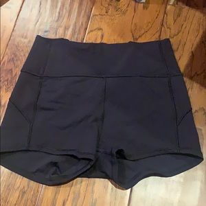 Lulu lemon spandex shorts